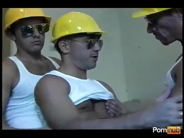 Construction worker gay porn