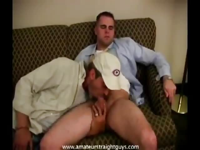 Delivery Guy Gets Blowjob