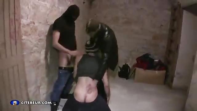 Masked Gay Bitch Sucked