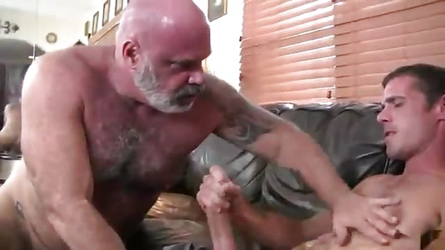 Steamy gay guys in tats banging