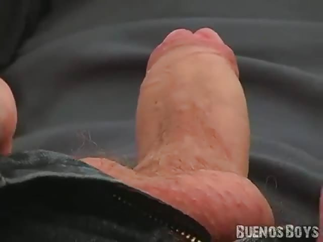 Shaved cock blowjob