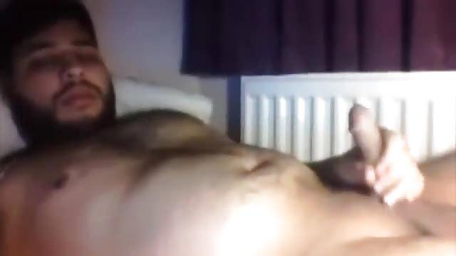 Hardcore muscle stud cumshot