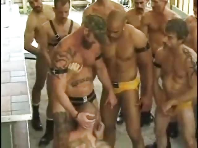golden shower orgy