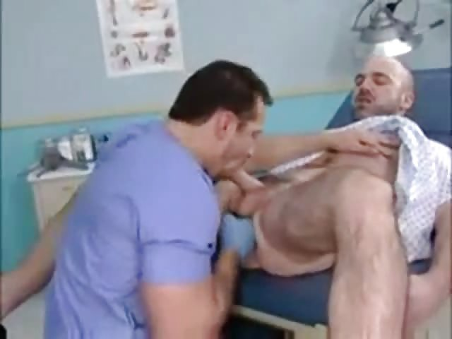 Male Nurse Giving A Patient Special Treatment - Gayfurorcom-6038