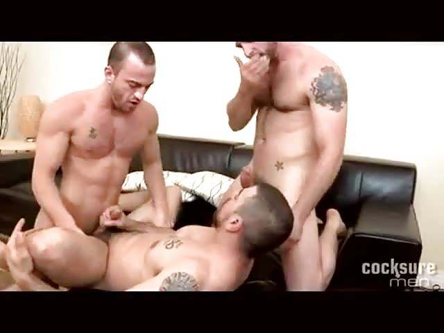 3 guys always hungry for a wank 7