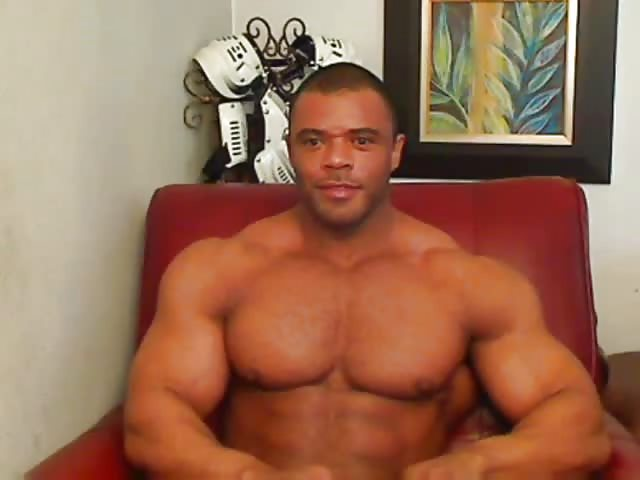 Amateur guy beating off at home