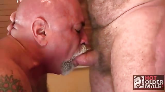 Horny chubby men