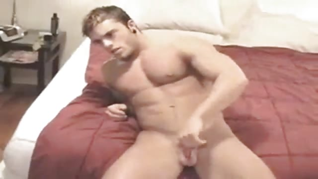 Straight twink buzz receives a wank and blow