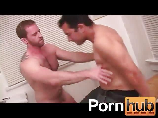 Bearded hunk anal