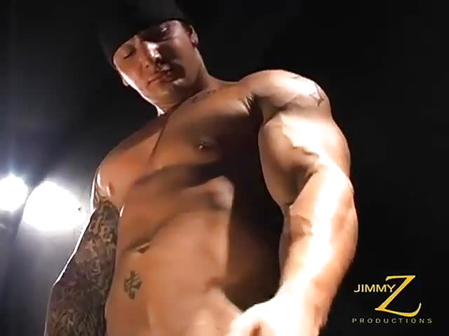 Muscle gay small cock video