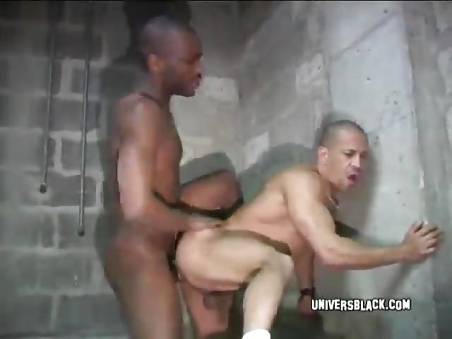 Naughty gay guys fucking in prison