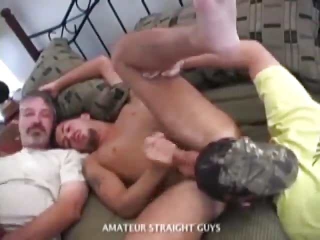 Straight Dude Pounding Ass With His Thick Cock