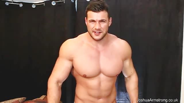 Excellent muscled lad assfucking