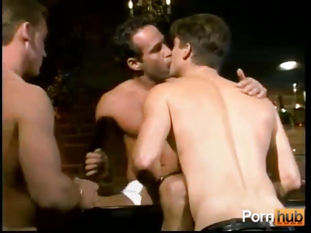 Gay prison threesome