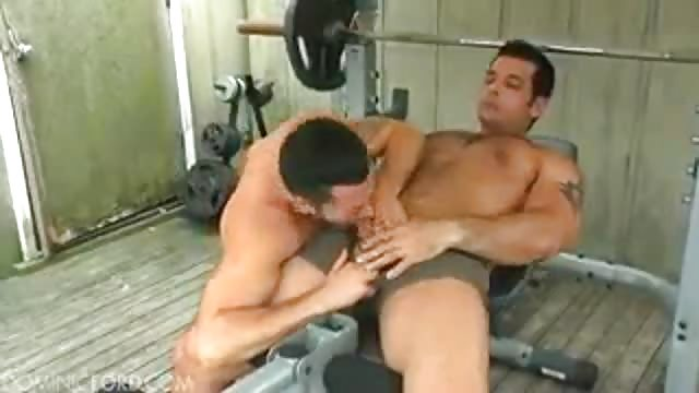 Gay gym fuck