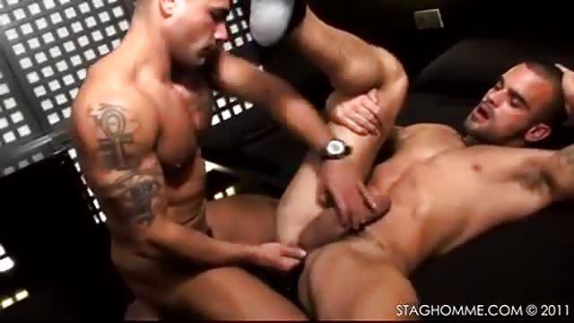 Two butch hunks