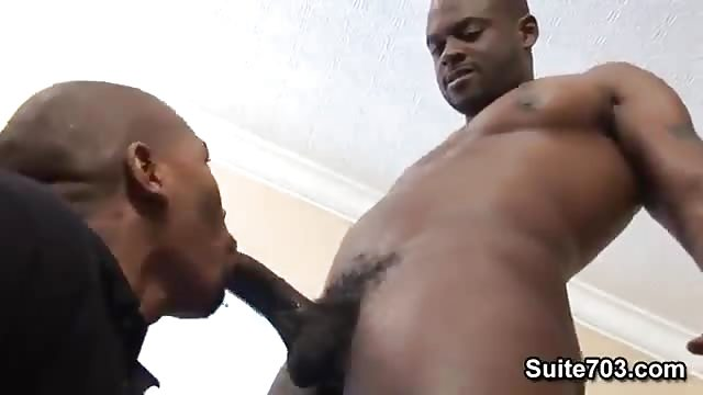 Straight black guy tricked into gay sex