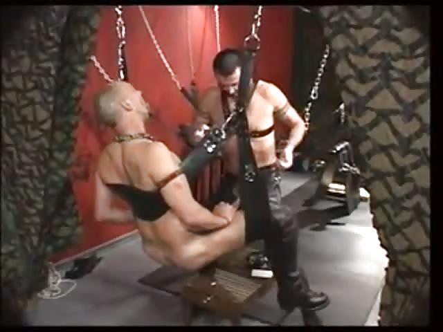 Meister bestrafen Sklave Anal