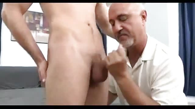 Young Cock And Old Man Have Some Amateur Fun
