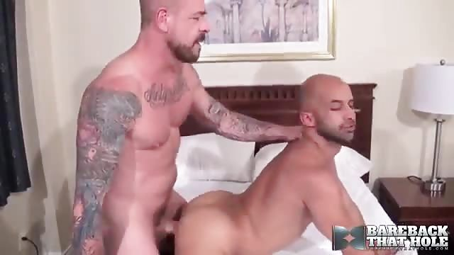 Rocco steele and adam russo bareback